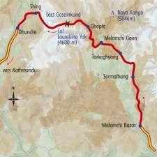 Itinéraire du voyage Langtang, Hélambu : Le Trek des Lacs Sacrés - Népal - Tirawa