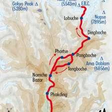 Itinéraire du voyage Kala Pattar, au plus près de l'Everest - Népal - Tirawa