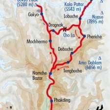 Itinéraire du voyage Le Trek de l'Everest - Népal - Tirawa