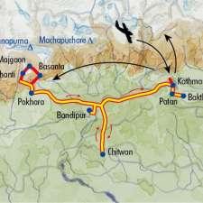 Itinéraire du voyage Sentiers du Népal - Népal - Tirawa