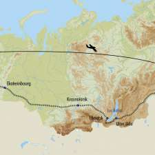Itinéraire du voyage Le Transsibérien, de Vladivostok à Moscou - Russie - Tirawa
