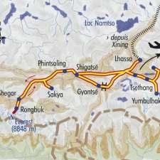 Itinéraire du voyage La Grande Traversée du Tibet - Tibet - Tirawa
