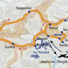 Itinéraire du voyage Découverte du Tibet - Tibet - Tirawa