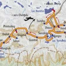 Itinéraire du voyage Du lac Namtso à l'Everest - Tibet - Tirawa