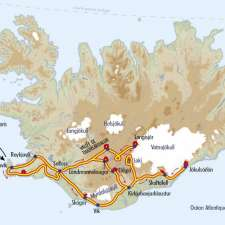 Itinéraire du voyage Volcans et Glaciers d'Islande - Islande - Tirawa