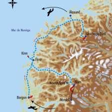 Itinéraire du voyage Rando et Croisière dans les Fjords de Norvège - Norvège - Tirawa
