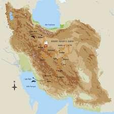 Itinéraire du voyage Désert et villes turquoises de Perse - Iran - Tirawa