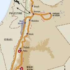 Itinéraire du voyage Trésors de Jordanie - Jordanie - Tirawa