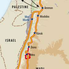 Itinéraire du voyage Grand Tour de la Jordanie - Jordanie - Tirawa