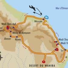 Itinéraire du voyage Trésors d'Oman - Oman - Tirawa
