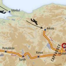 Itinéraire du voyage Grand Tour de l'Anatolie - Turquie - Tirawa