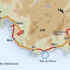 Itinéraire du voyage Sentiers de Lycie - Turquie - Tirawa