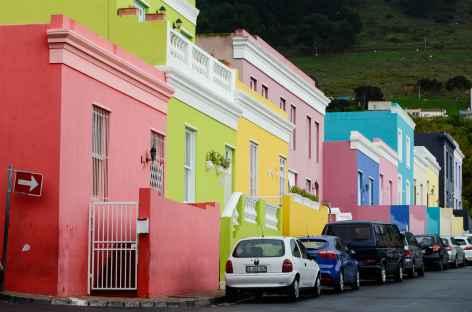 Maisons colorées de Bo Kaap, Le Cap - Afrique du Sud -