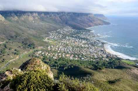 Vue panoramique depuis Lion's Head - Afrique du Sud -