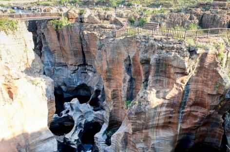 Bourke's Luck Potholes dans le Blyde River Canyon - Afrique du Sud -