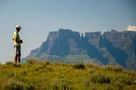 Rando dans le Parc national du Royal Natal, Drakensberg - Afrique du Sud -