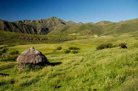 Trek dans les montagnes de Maloti - Lesotho -