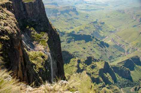 Rando pour l'Amphithéatre, Drakensberg - Afrique du Sud -