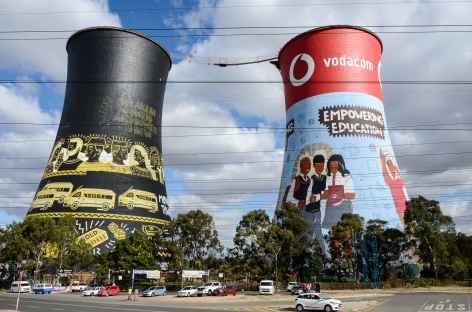 Quartier de Soweto - Afrique du Sud -
