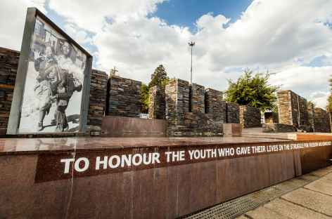 Quartier à Soweto, Johannesburg - Afrique du Sud -