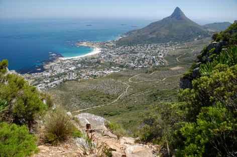 Ville du Cap depuis Table Mountain - Afrique du Sud -