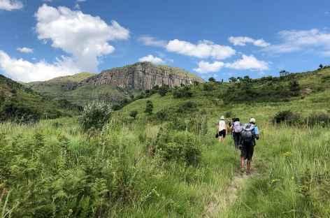 Rando dans la Réserve d'Injisuthi, Drakensberg - Afrique du Sud -