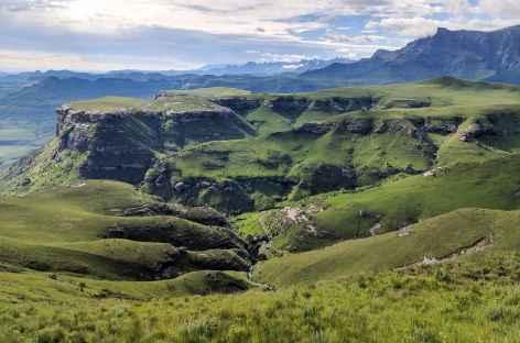 Rando dans le Royal Natal, Drakensberg - Afrique du Sud -