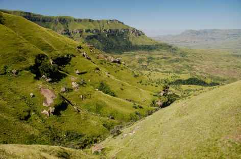 Rando à Cathedral Peak, Drakensberg - Afrique du Sud -
