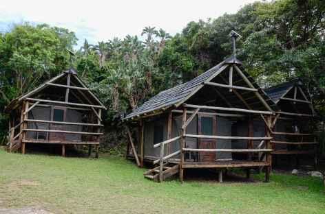 Camp de toile sur la Wild Coast - Afrique du Sud -
