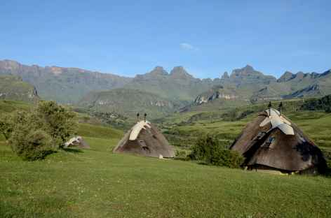 Notre hébergement à Cathedral Peak, Drakensberg - Afrique du Sud -