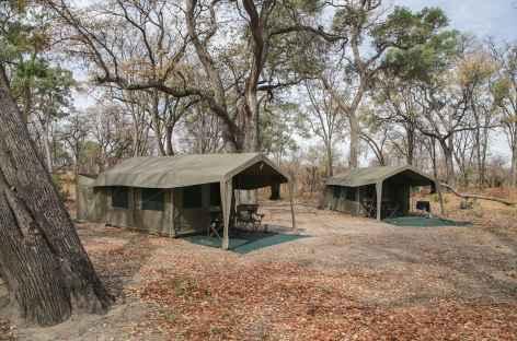 Notre camp de toile confortable au Botswana -