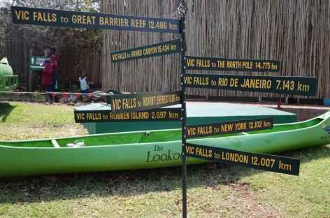 Ville de Victoria Falls - Zimbabwe -