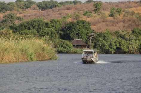 Navigation sur la rivière Chobe - Botswana -