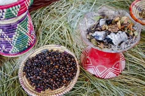 Cérémonie du café - Ethiopie -