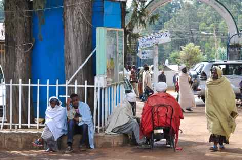 Colline d'Entoto à Addis Abeba - Ethiopie -