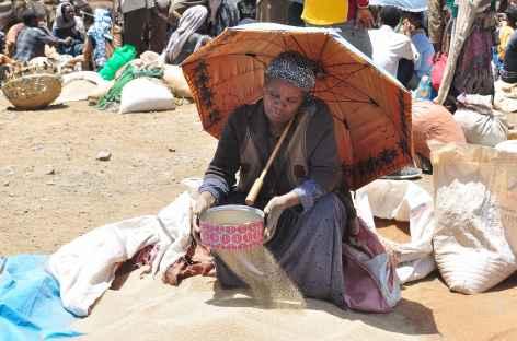 Sur le marché de Lalibela - Ethiopie -