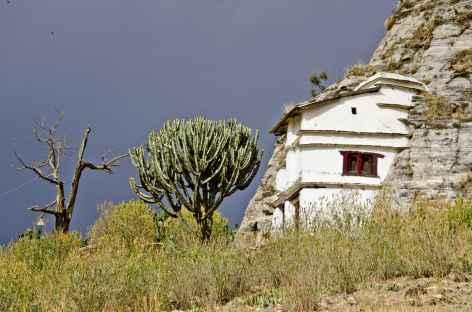 Eglise du Tigray, perchée dans la montagne - Ethiopie -