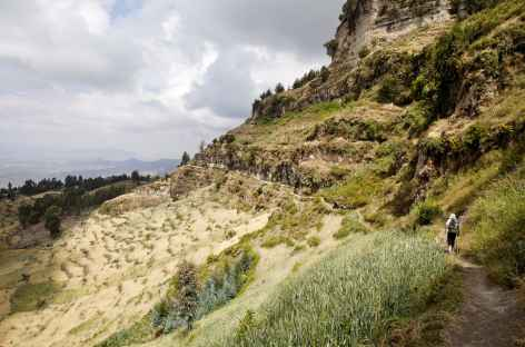 Marche sur les hauteurs de Lalibela - Ethiopie -