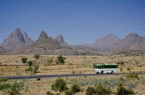 Sur la route entre le Simien et Axoum - Ethiopie -