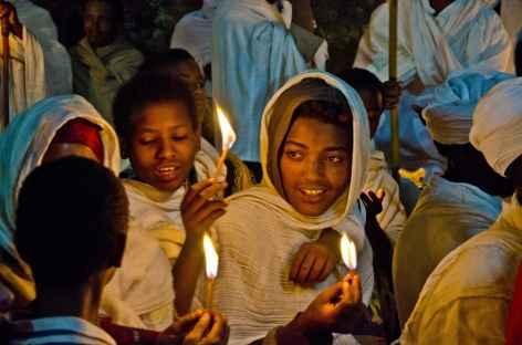 Fêtes de Fasika (Pâques) à Lalibela - Ethiopie -