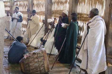 Eglise circulaire de Uhra Kidane Mehret, Lac Tana - Ethiopie -