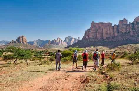 Randonnée dans le massif de Gheralta, Tigray - Ethiopie -