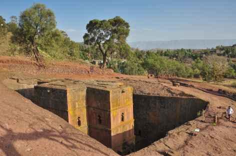 Eglise Saint Georges à Lalibela - Ethiopie -