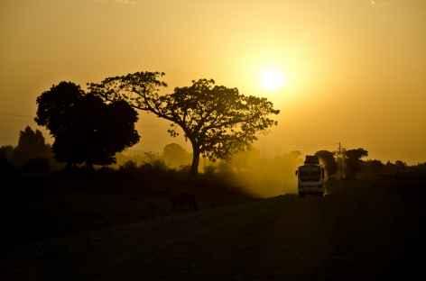 Région du Lac Tana, en fin de journée... - Ethiopie -