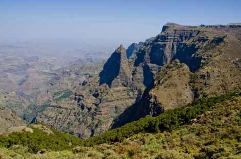 Montagnes escarpées du Simien - Ethiopie -
