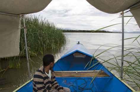 Excursion en bateau sur le lac Chamo, Vallée de l'Omo - Ethiopie -