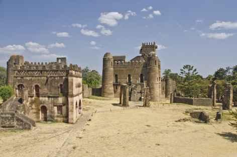 Châteaux médiévaux de Gondar - Ethiopie -