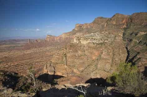 Randonnée dans le massif du Gheralta, Tigray - Ethiopie -
