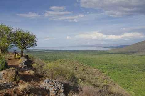 Panorama depuis les hauteurs d'Arba Minch, Vallée de l'Omo - Ethiopie -