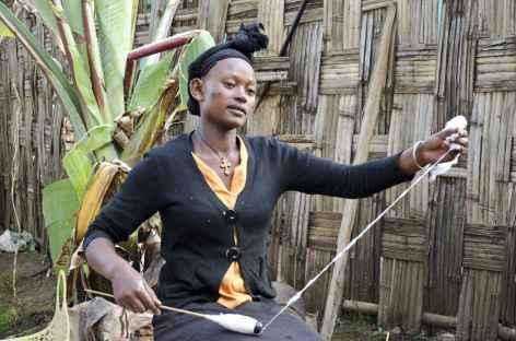 Femme Dorzé, Vallée de l'Omo - Ethiopie -
